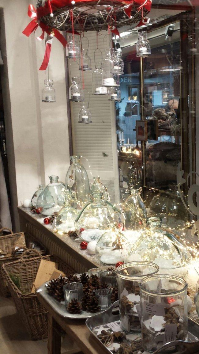 weihnachtliches Schaufenster