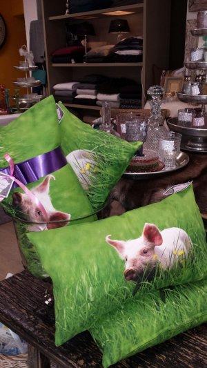 Kissenmotiv Schwein