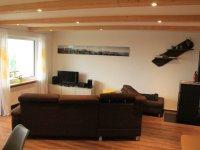 Wohnzimmer mit Pelletofen