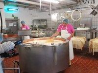 Sennerei Käseherstellung Hof-Milch