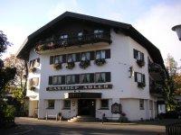 Haupteingang, Hotel Adler in Oberstdorf