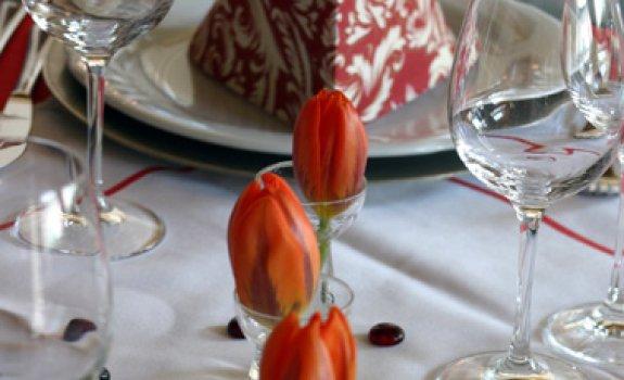 Liebevolle Tischdeko