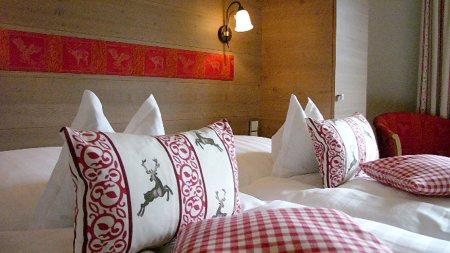 Doppelzimmer Hotel Adler in Oberstdorf