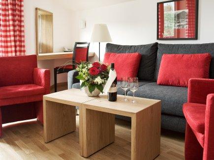 geruhsame Sitzecke in Ihrem Zimmer