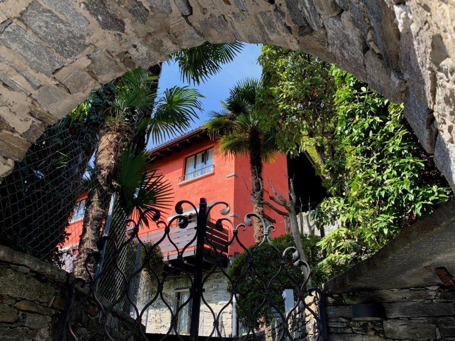Die Ferienwohnung Arancina am Lago Maggiore in einem renovierten Tessiner Haus