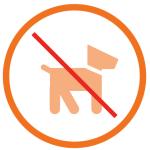Haustiere nicht gestattet