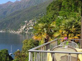 Balkon auf der Seeseite