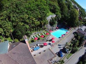Der Pool am Hotel Arancio