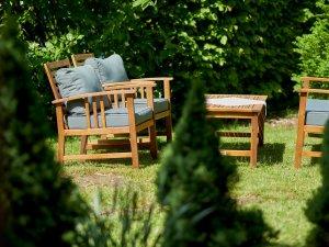 Lounge im Freien