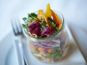 Kulinarik im Glas