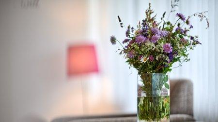 Blumen in der Juniorsuite