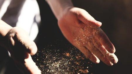 arbeitende Hände