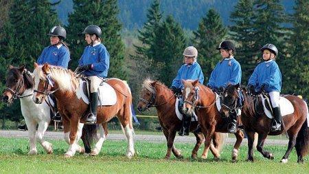 Ponyreiten in Schwangau