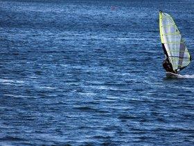 Surfen auf dem Forggensee