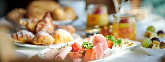 Frühstück im Hotel Bannwaldsee