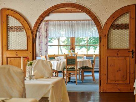 Räumlichkeiten im Restaurant Bannwaldsee