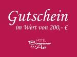 200,- € Gutschein