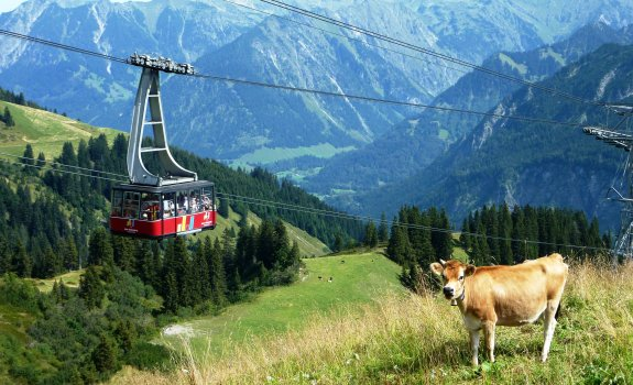 The Fellhornbahn