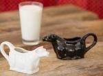 Milch frisch von der Kuh