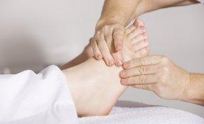 Entspannende Fußmassage