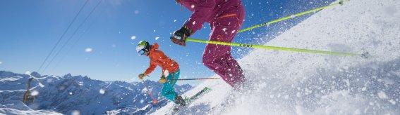 Skifahren © Tourismus Oberstdorf Alex Fuchs