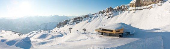 Skifahren am Ifen(1) © Bergbahnen Oberstdorf Kleinwalsertal