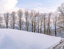 Neuschnee im März