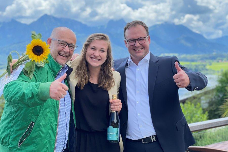 Frank Marisa Nikolaus Jäger Allgäuer Azubi Award 2021
