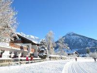 Hotel Fuggerhof im Winter