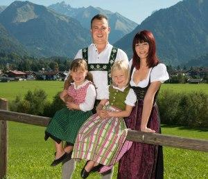 Ihre Gastgeber - Familie Kiechle