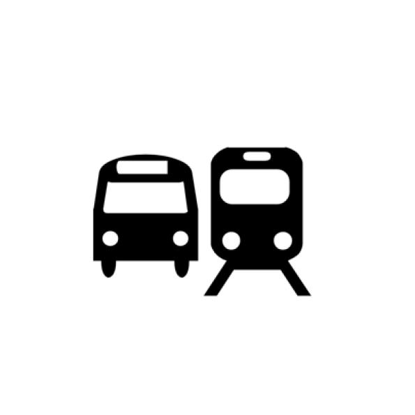 Anreise mit Bus u. Bahn
