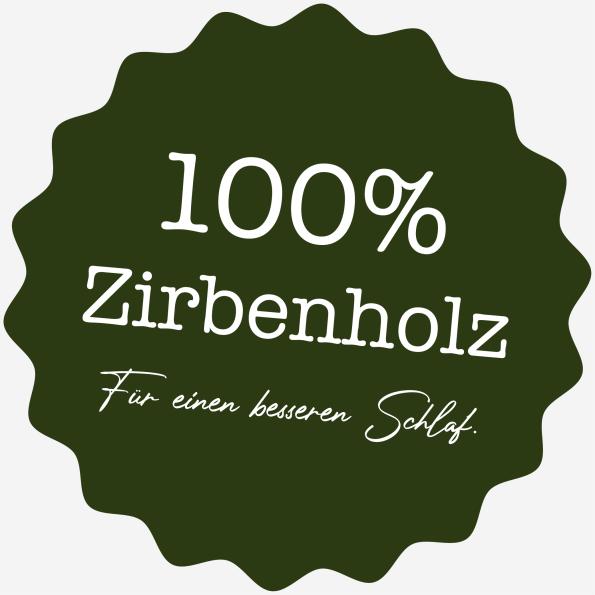Zirbenholz badge