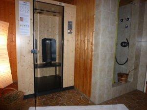 Infrarotkabine - Saunabereich