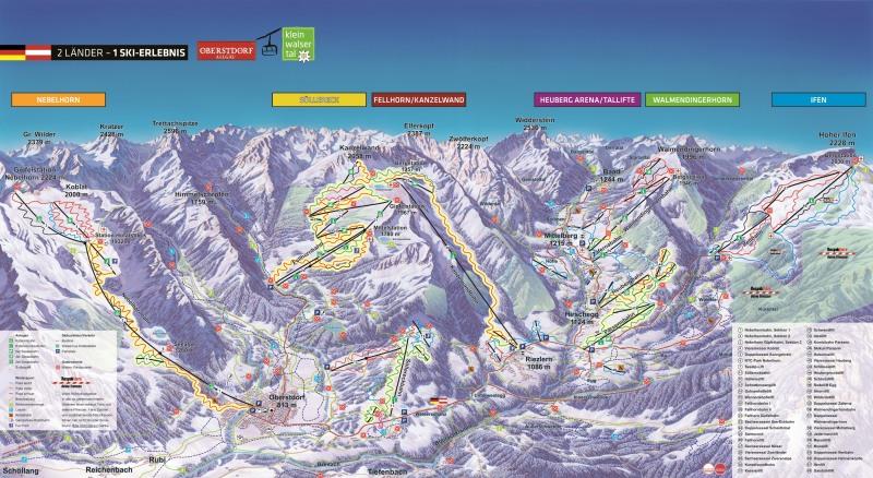 Panorama Skigebiete
