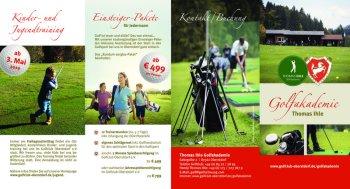 Kursangebot Thomas Ihle Golfakademie