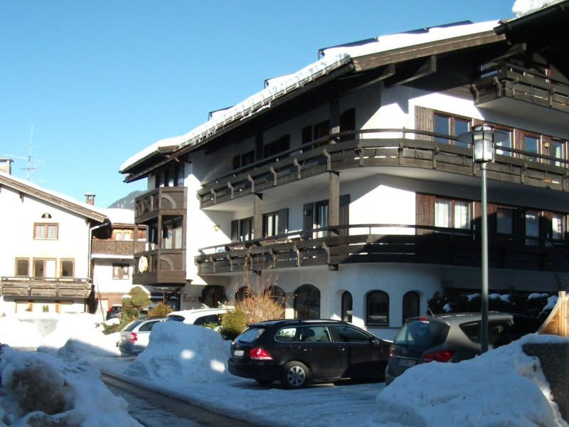 Hotel garni Marzeller im Winter