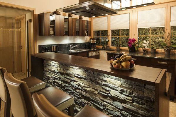 Chalet Küchenbereich