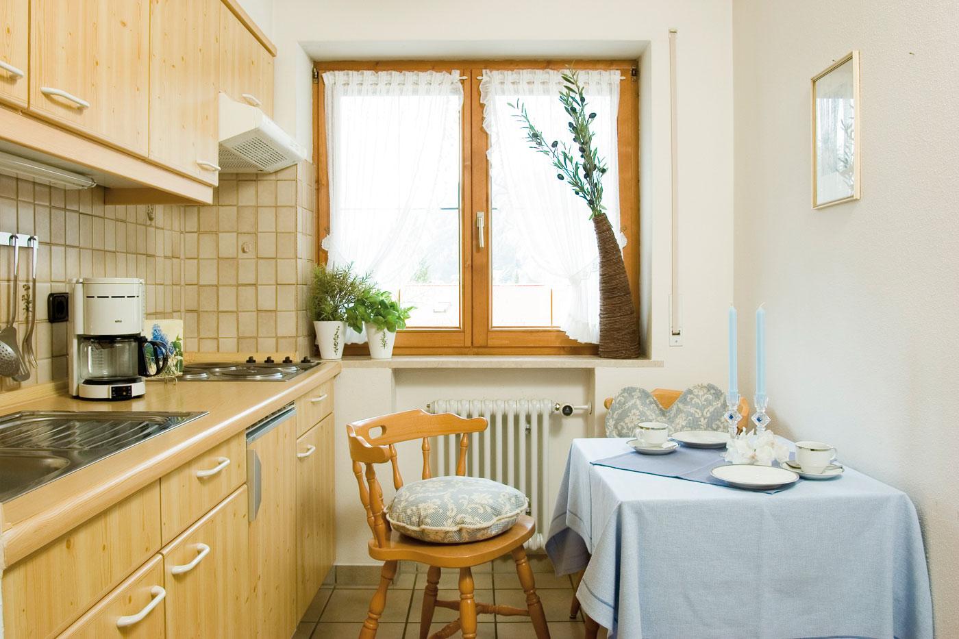 Mädelegabel Ferienwohnung Küche
