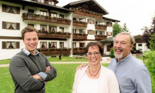 Familie Heinle in Oberstdorf