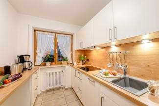 Mädelegabel Ferienwohnung Küche neu