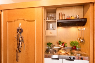 Küche Fellhorn Ferienwohnung