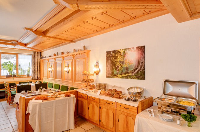 Brotbuffet vom Hotel Rubihaus garni