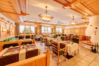 Frühstücksraum vom Hotel Rubihaus garni