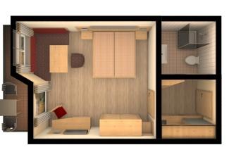Zimmer Rubihorn Ost