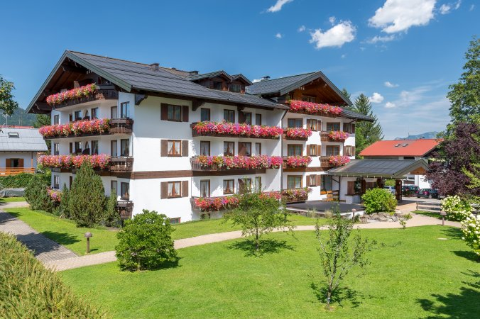 Hotel Rubihaus Sommeraufnahme