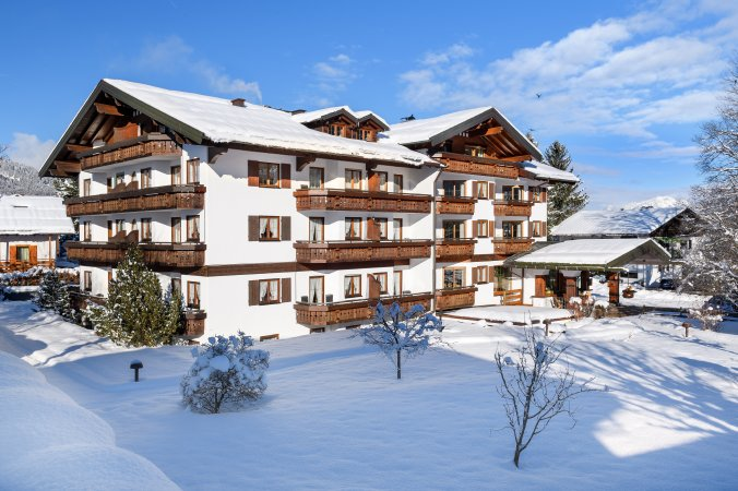Hotel Rubihaus in Oberstdorf im Winter