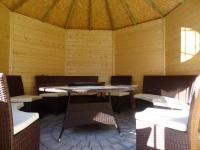 Pavillon für Gäste Innenraum