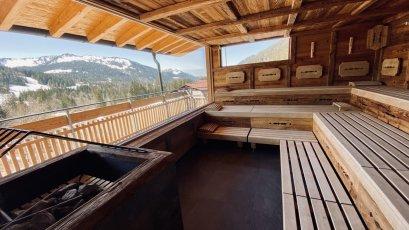 Wellness - Panorama Sauna