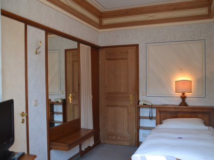 Einzelzimmer im Hotel Lamm