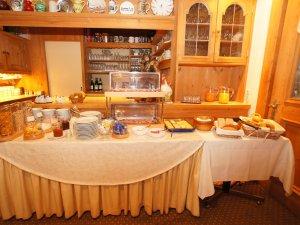 Frühstücksbuffet im Hotel Lamm